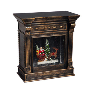 Decor, LED Spinning Water Fireplace, 7.5in - Floral Acres Greenhouse & Garden Centre