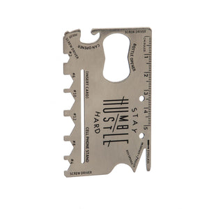 Multifunctional Metal Tool Card, 12-in-1 - Floral Acres Greenhouse & Garden Centre