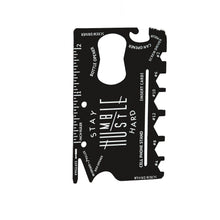 Load image into Gallery viewer, Multifunctional Metal Tool Card, 12-in-1