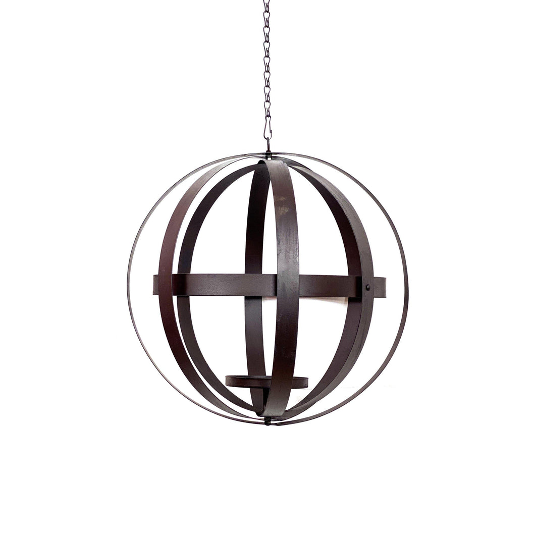 Foldable Hanging Sphere Planter, 14in Diameter - Floral Acres Greenhouse & Garden Centre