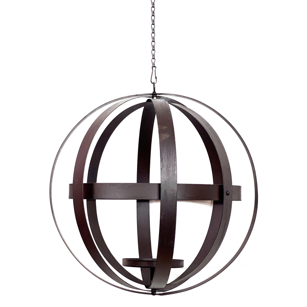 Foldable Hanging Sphere Planter, 20in Diameter - Floral Acres Greenhouse & Garden Centre