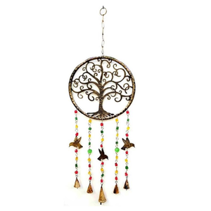 Iron Bell Chime, Tree of Life #1, Hummingbirds