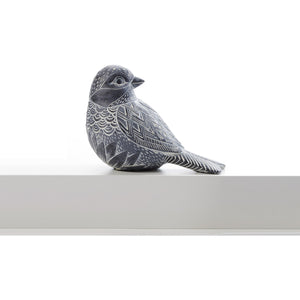Polyresin Southwest Bird Figurine, 2 Assorted