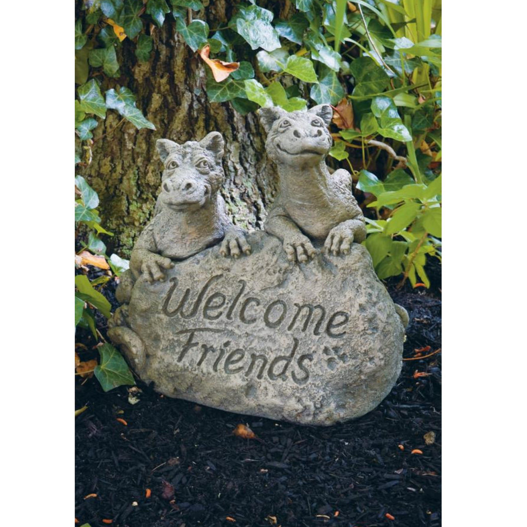 Dragons - Welcome Friends Statue, 14in