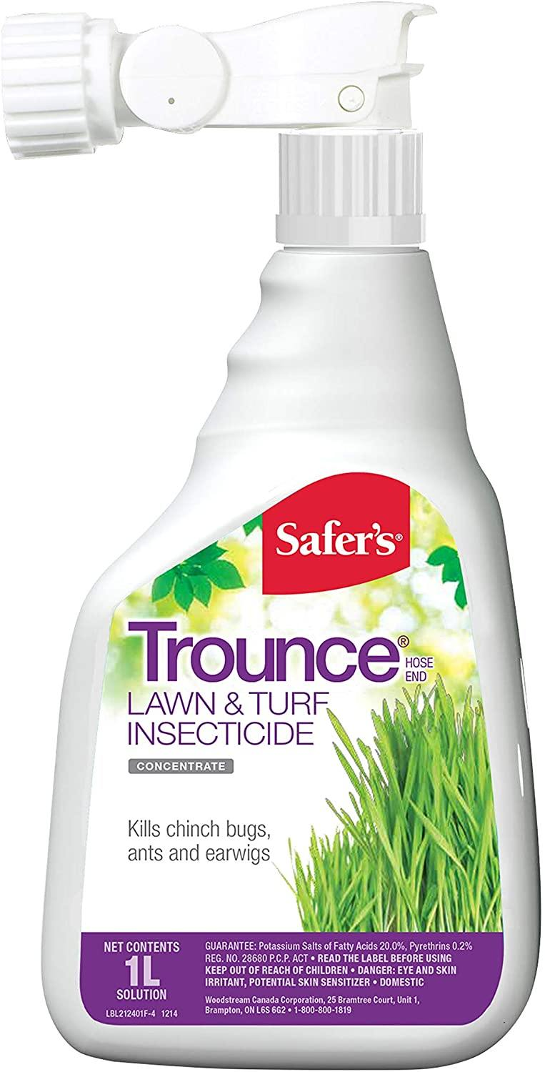 Insecticide, Safer's Trounce for Turf, 1L - Floral Acres Greenhouse & Garden Centre
