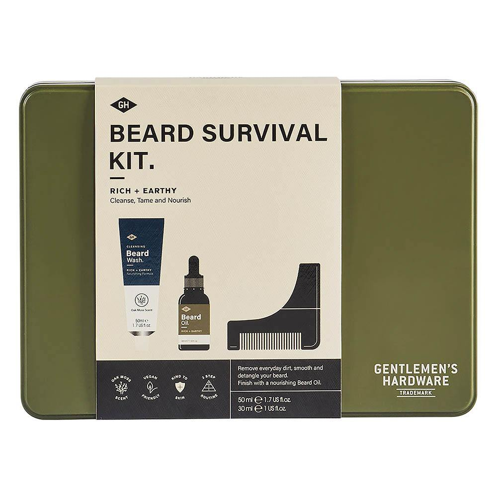 Gentlemen's, Beard Survival Kit - Floral Acres Greenhouse & Garden Centre