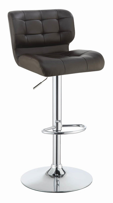 Modern Brown Adjustable Bar Stool image