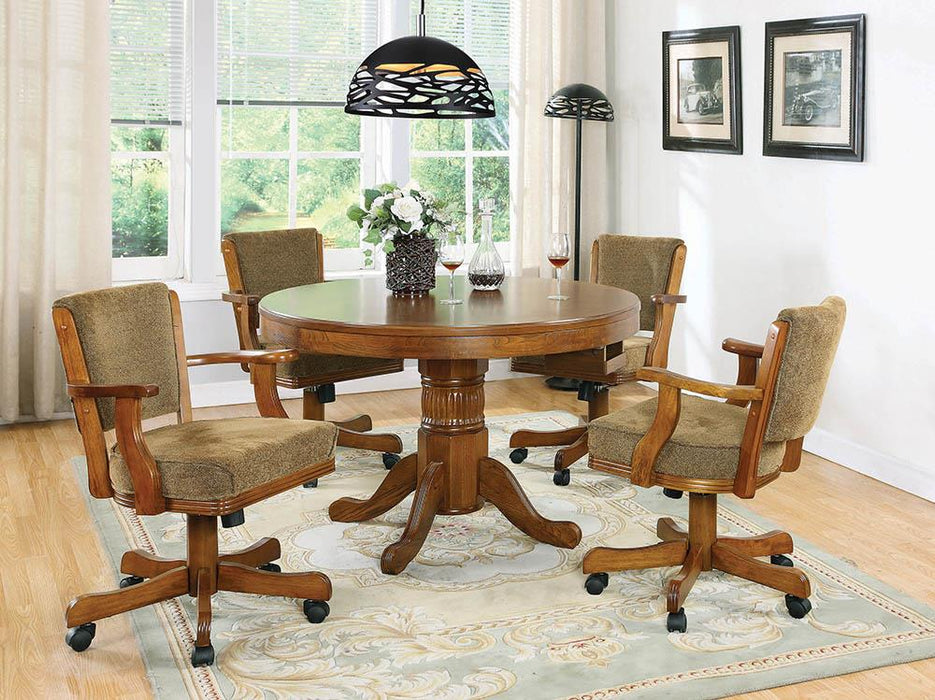 Mitchell Traditional Oak Game Table image