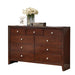 Ilana Brown Cherry Dresser image