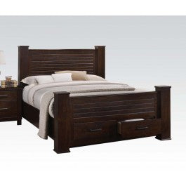 Acme Panang Queen Bed w/ Storage in Mahogany 23370Q image