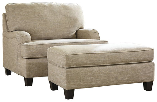Almanza Signature Design 2-Piece Chair & Ottoman Set image