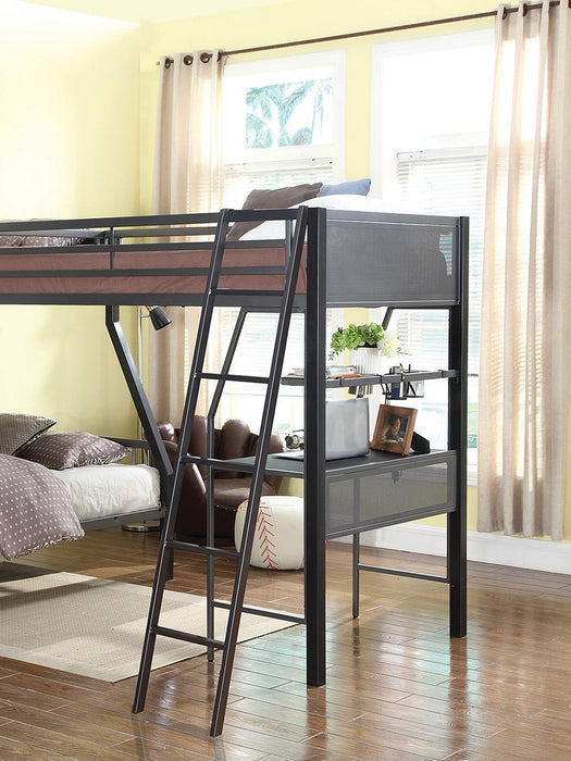 Meyers Traditional Grey Twin Loft Add-On image