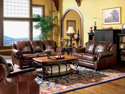 Princeton Traditional Burgundy Sofa image