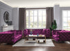 Atronia Purple Fabric Sofa image