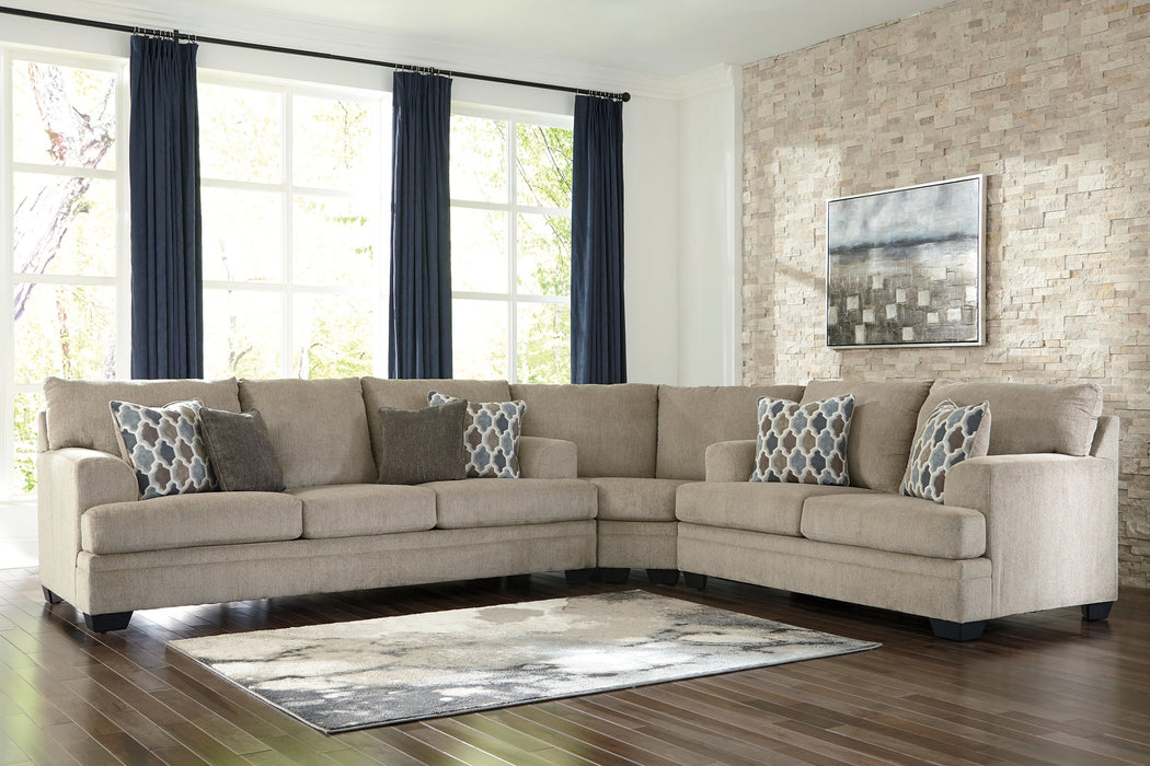 Dorsten Signature Design by Ashley 3-Piece Sectional image