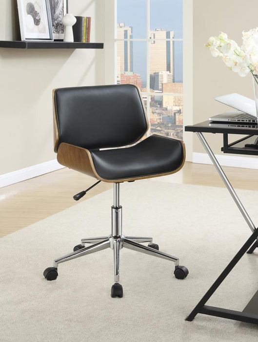 Modern Black Office Chair image