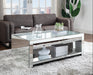 Malish Mirrored Coffee Table image