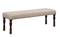 HOLCROFT Antique Cherry/Beige Bench image