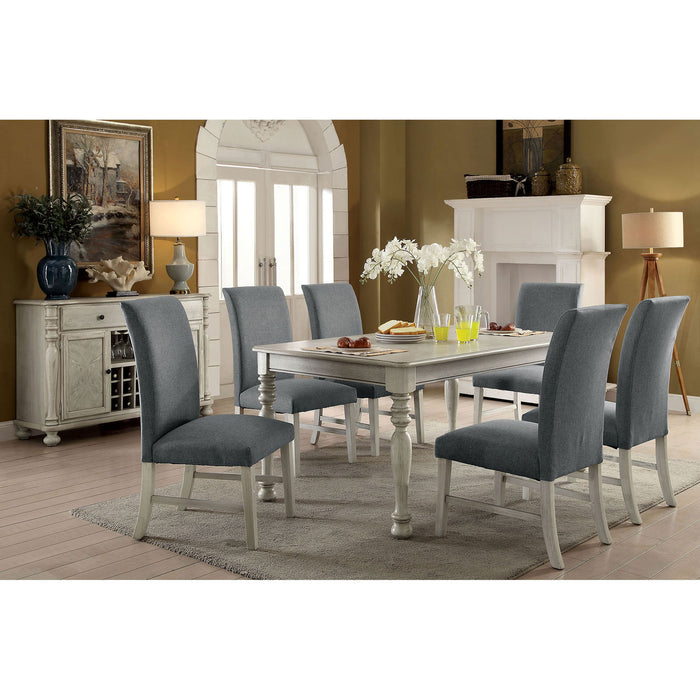 Kathryn Antique White 7 Pc. Dining Table Set image