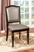 Harrington Dark Walnut/Pewter Side Chair (2/CTN) image