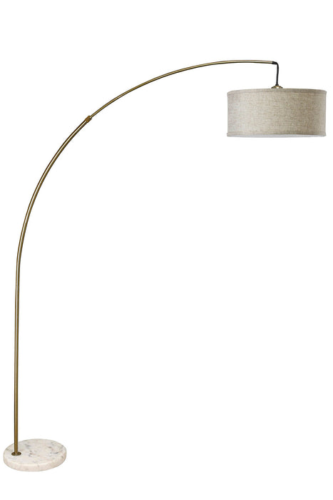 Jess Antique Gold Arch Lamp image