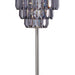 Meg Black/Chrome Table Lamp image