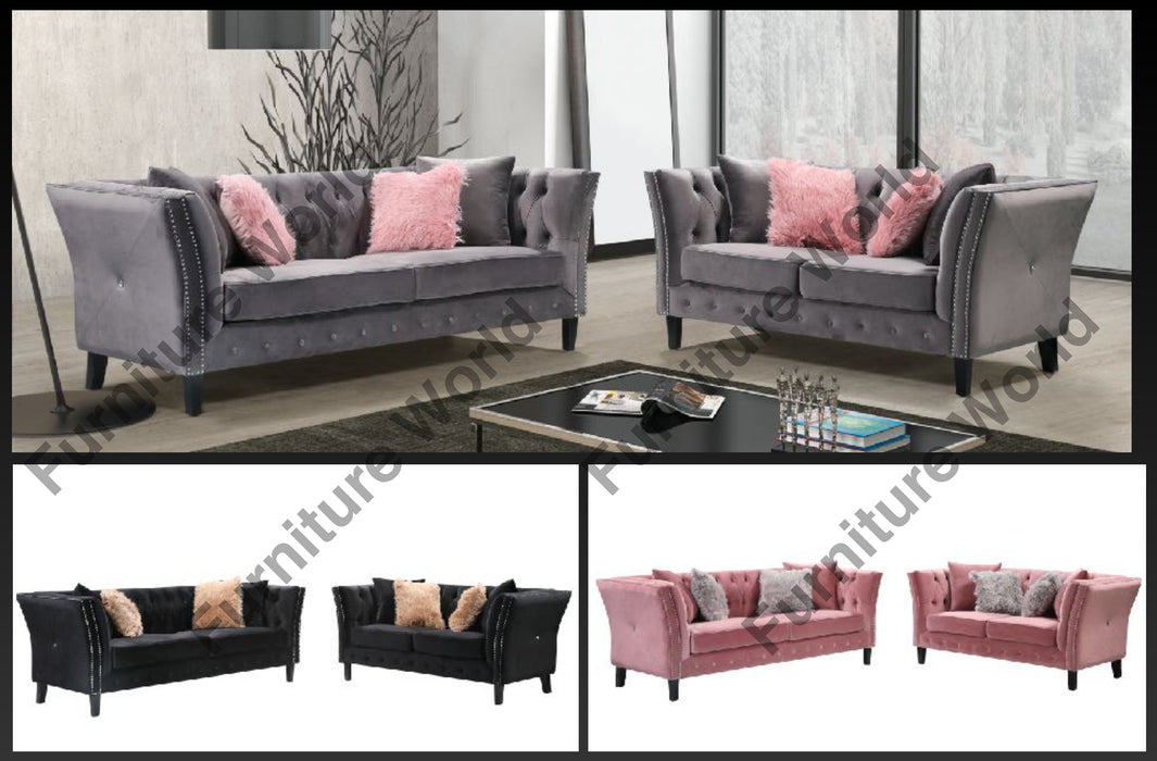 LCL-004 2-Piece Living Room Set
