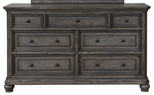 Crown Mark Lavonia 7 Drawer Dresser in Grey B1880-1 image