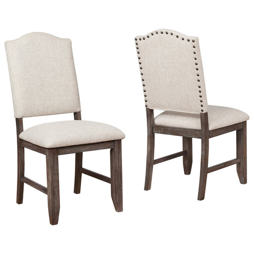 Crown Mark Regent Side Chair (Set of 2) in Warm Brown 2270S image
