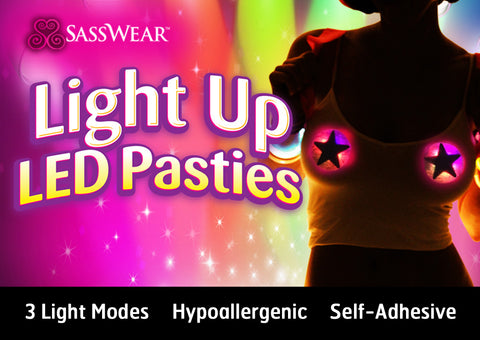 LED Pasties: Clickers by Sasswear