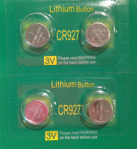 Z--Batteries CR927 (4)