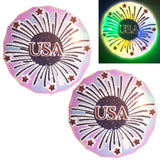 USA Light Up LED Pasties by Sasswear