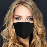 Face Mask | Plain Black - Sasswear