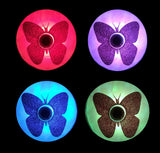 led light up pasties butterfly nipple covers