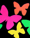 Butterfly Glow-in-the-Dark Body Stickers-Mini - Sasswear