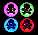 led crossbones costume light up pasties