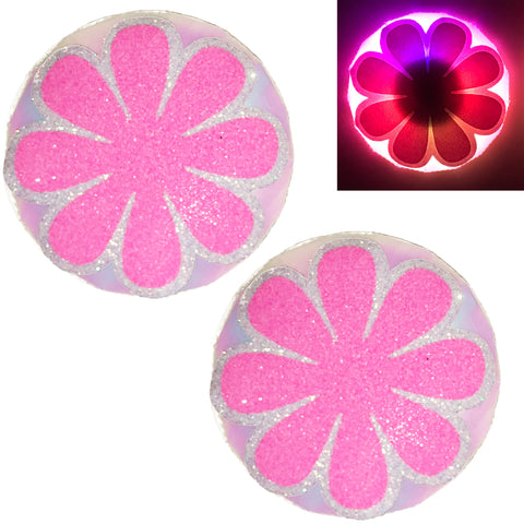 LED Nipple Pasties-Daisy Clickers by Sasswear - Sasswear