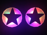 light up star nipple covers by Sasswear