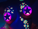 nipple sticker star light up glow stickers Sasswear