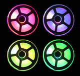 LED Light Up Pasties multi color