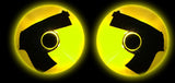 Stick Up Cop Costume Glow Gun Nipple Pasties by Sasswear