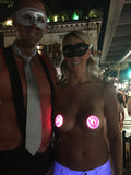 Fantasy Fest Key West LED Nipple Pasties