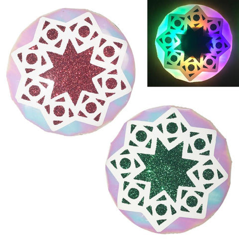 LED Nipple Pasties-Holiday Clickers by Sasswear - Sasswear