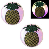 pineapple led pasties by sasswear