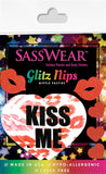 rave pasties kiss heart stickers Sasswear