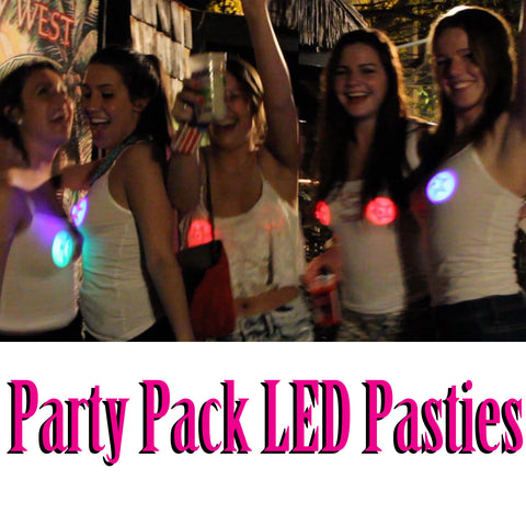 Party Pack LED Pasties Variety - Sasswear