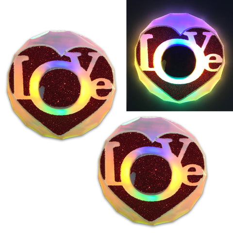 Love nipple covers light up by Sasswear
