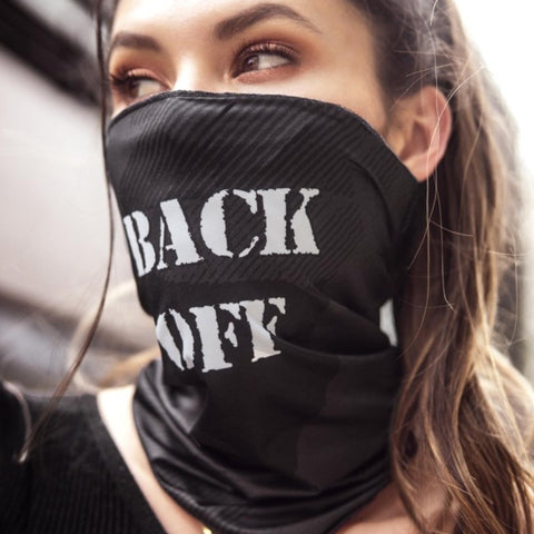 Face Mask Bandana | Back Off by Mapalé - Sasswear