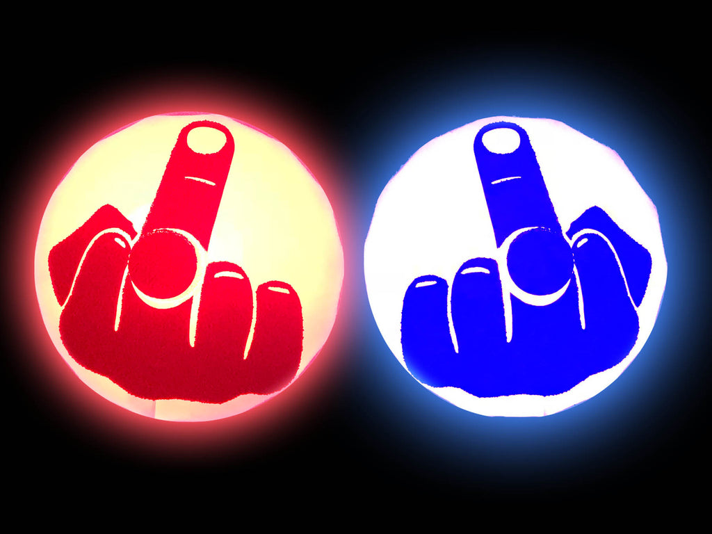 Middle Finger LED Pasties - Sasswear