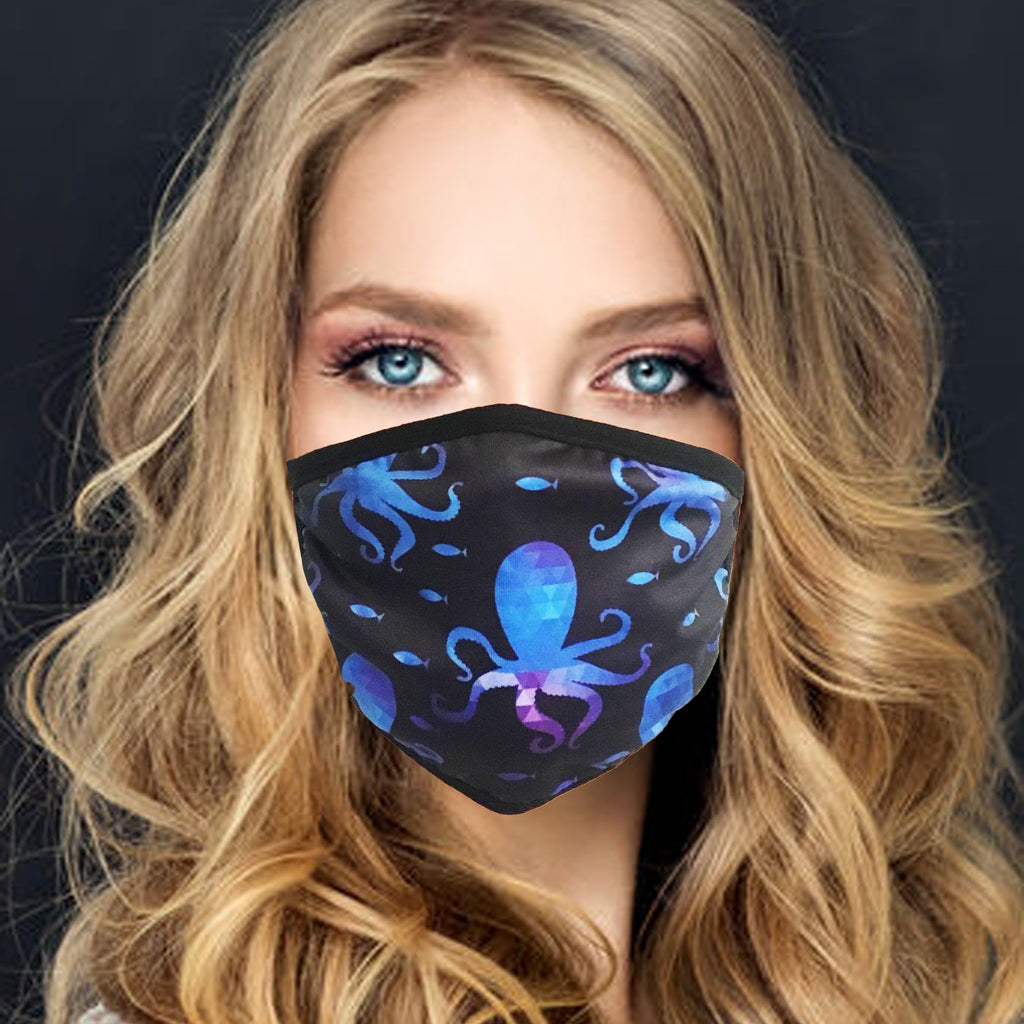 Face Mask | Octopus - Sasswear